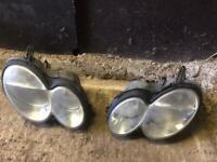 mercedes-benz parts 2004-2010 CLK 270 CDI Avande A set of headlight