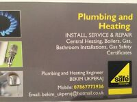 Plumbing and Heating Gas Safe Engineer/Plumber/Boiler Emergency breakdown