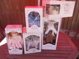 leonardo collection porcelain dolls joblot