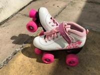 Kids roller skates hardly used
