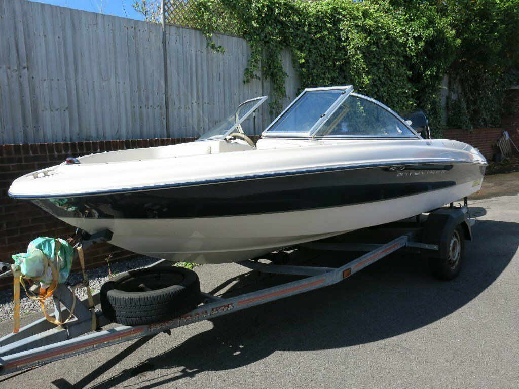 Bayliner capri 160 bowrider with 90hp mercury outboard for Bowrider boats with outboard motors