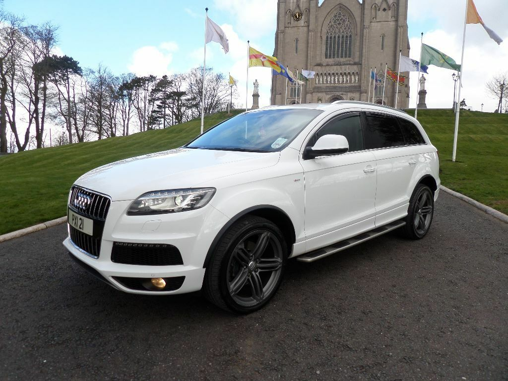 2011 AUDI Q7 3.0TDI S-LINE QUATTRO BLACK EDITION **EXCELLENT FINANCE AVAILABLE** | in Armagh ...