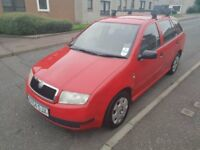 CHEAP SKODA FABIA 1.4 TURBO DIESEL MOT TOW BAR ROOF BARS CHEAP P/EX WELCOME