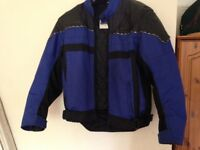 j&s motorcycle jacket bike jacket size 46 chest