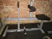 Body Solid calf rise bench