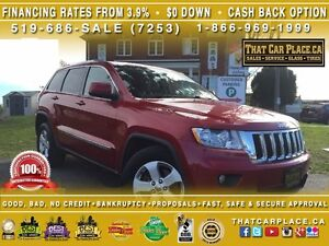 2011 Jeep Grand Cherokee Laredo-$82/Wk-4x4-Leather-Sunroof-Backu