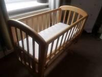 John lewis rocking crib