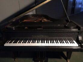 BRAND NEW TESORO NERO DIAMOND SPARKLE BABY GRAND PIANO