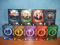 STARGATE SG1 BOXED SETS, SEASONS 1-9