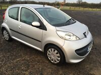 Peugeot 107 Urban Move Low mileage for year