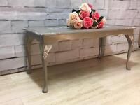 Beautiful Coffee Table Lovingly Restored in Shabby Chic French Country style