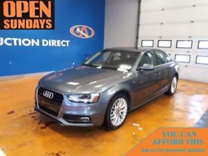 2015 Audi A4 S-LINE! NAVI! LEATHER! AWD!