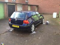 BREAKING MK4 golf 1.6 SE
