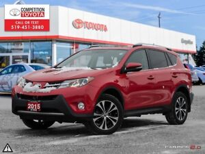 2015 Toyota RAV4 XLE One Owner, No Accidents, Toyota Serviced