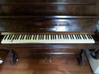 Calf Hofler & Co Berlin - Dark Brown Working Piano