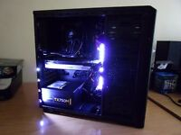 Super fast Water Cooled Gaming PC - FX 8320 8-core, 8GB DDR3, GTX 680, 1TB