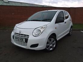 SUZUKI ALTO SZ3 5 DOOR HATCH BACK PETROL LONG MOT LOW MILEAGE 2013 07398146529