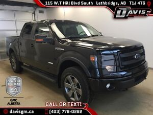 Used 2014 Ford F-150 4WD SuperCrew Lariat-Heated/Cooled Leather-