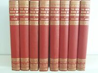 THE NEW BOOK OF KNOWLEDGE - COMPLETE 8 VOLUMES AS NEW CONDITION WITH ORIGINAL 1950 BOXES