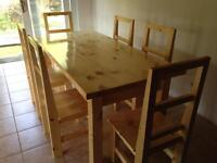 Pine Country Harvest Table