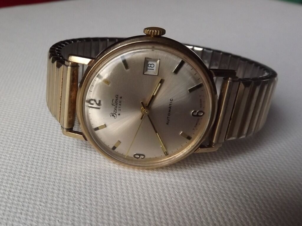 vintage watches kavels girard gold solid perregaux men