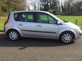 RENAULT SCENIC 1.6 VVT PETROL DYNAMIQUE 2007 (57 PLATE) MANUAL, FULL SERVICE HISTORY. £1750