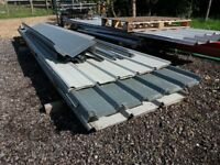 Box profile coated roofing sheets only £1 per foot