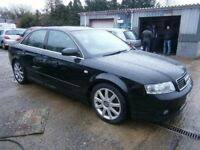 ** NEWTON CARS ** 04 54 AUDI A4 1.8T 163 LTD EDITION, SALOON, GOOD OVERALL, FULL MOT SUPPLIED, CALL