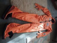 MARINE SUIT OFFSHORE SURVIVAL RIB SAILING MOTORBOAT FISHING AS NEW BARGAIN