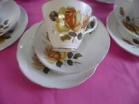 Vintage Cups Saucers and Trios Ideal For Mismatch Tea Sets