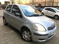 TOYOTA YARIS 1.0 VVTI = 3700 MILEAGE ONLY = £1590 ONLY =