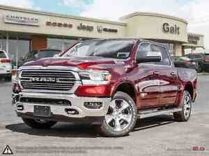 2019 Ram All-New 1500 LARAMIE CREW 4X4 | LEATHER SUNROOF NAV UCO