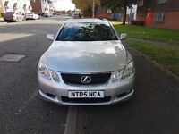 This is Lexus GS300 with a good condition