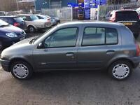 1999 left hand drive French Renault Clio 1.2 petrol ready for export LHD