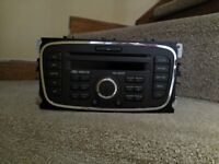 FOR SALE FORD CD PLAYER CD 6000 WITH CODE IN VERY GOOD CONDITION
