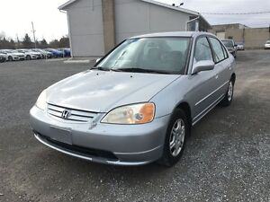 2001 Honda Civic Sedan LX-G at Kingston Kingston Area image 3