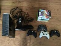 Xbox 360 + Kinect Bundle + Games