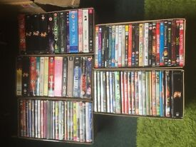 Job Lot Of 100 DVDs