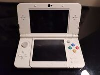 NEW nintendo 3DS bundle (white)