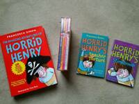 Collection of brand new /sealed Horrid Henry books