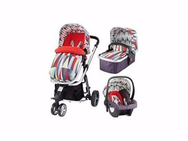 Cosatto Giggle 2 Travel System + Car Seat! Brand New still boxed
