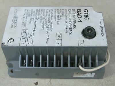 Johnson Controls G765bad-1 Direct Spark Ignition Control Carrier Pn Lh33wp-001