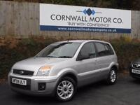 FORD FUSION 1.4 ZETEC CLIMATE 5d 68 BHP RECENT SERVICE + NEW M (silver) 2009