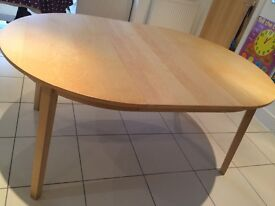 IKEA Extendable dining table seats 4-6