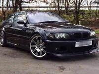 BMW E46 M3 3.2 SMG COUPE 2002 P/P HPI CLEAR LOW MILES MAY PX WHY