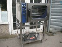 Electrolux FCE061 Convection oven with steam 3 phase electric catering equipment.