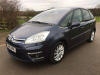 2011 Citroen C4 Picasso 1.6 Airdream Turbo diesel Full service history