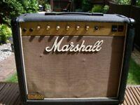 Marshall JCM800 Model 4010 50 watt 1 x 12 all valve electric guitar amplifier- '80s - England