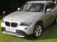 BMW X1 s drive 18d with leather seats and lots of extras