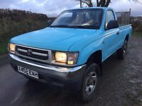 Toyota Hilux single cab pickup 4x4 4wd hi-lux pick-up truck Export welcome NO VAT